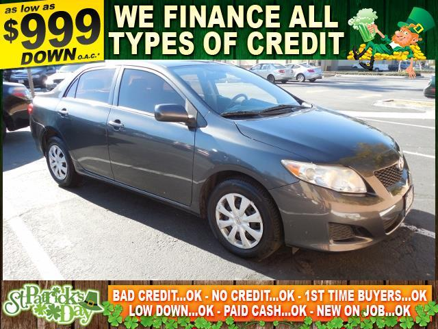 2010 TOYOTA COROLLA LE 4DR SEDAN 4A gray limited warranty included to assure your worry-free purc