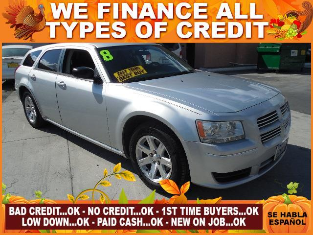 2008 DODGE MAGNUM BASE 4DR WAGON silver limited warranty included to assure your worry-free purch