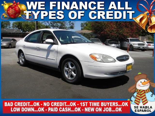 2003 FORD TAURUS SES DELUXE 4DR SEDAN white abs - 4-wheel center console clock cruise control