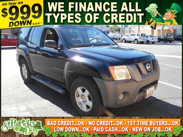 2007 NISSAN XTERRA 40 black limited warranty included to assure your worry-free purchase autoch