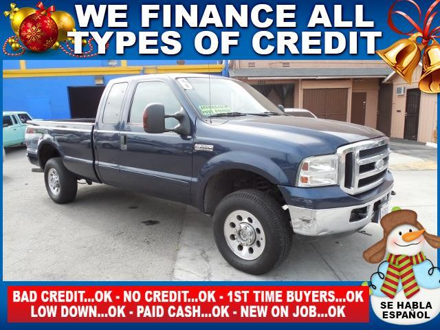 2006 FORD F-250 SUPER DUTY XLT 4DR SUPERCAB 4WD LB blue limited warranty included to assure your