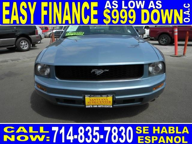 2005 FORD MUSTANG PREMIUM blue limited warranty included to assure your worry-free purchase auto