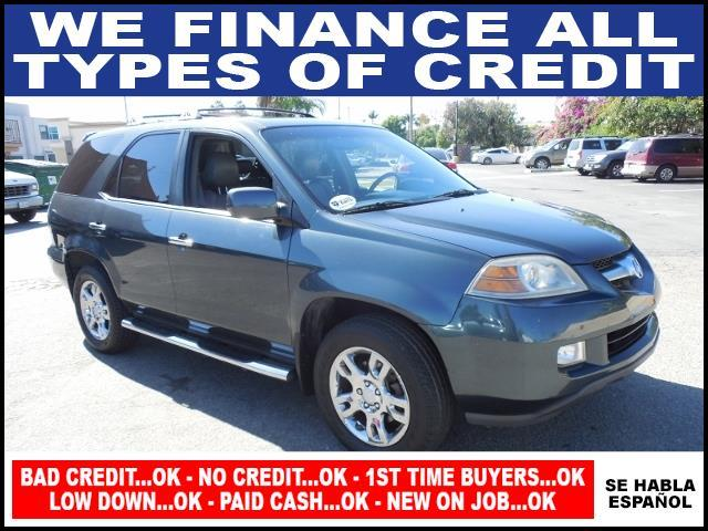 2005 ACURA MDX TOURING WNAVI AWD 4DR SUV gray limited warranty included to assure your worry-fre