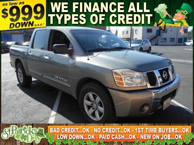 2006 NISSAN TITAN SE 4DR CREW CAB SB gray limited warranty included to assure your worry-free pur