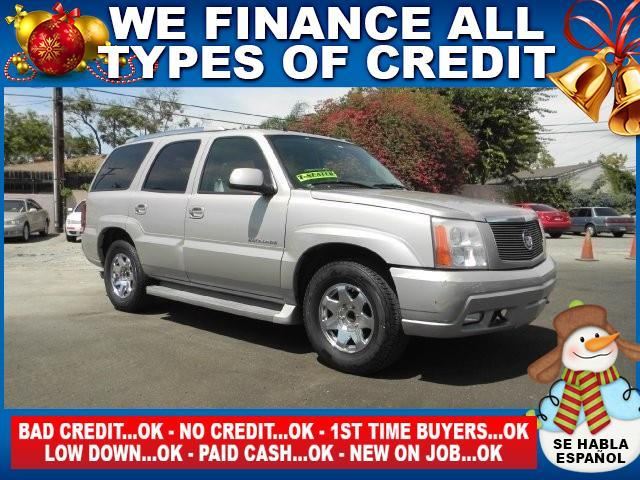 2005 CADILLAC ESCALADE BASE RWD 4DR SUV silver limited warranty included to assure your worry-fre