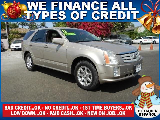 2006 CADILLAC SRX BASE 4DR SUV WV6 gold limited warranty included to assure your worry-free purc