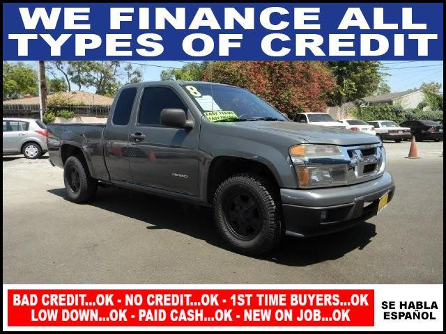 2008 ISUZU I-SERIES I-290 S 4DR EXTENDED CAB SB RWD gray limited warranty included to assure your