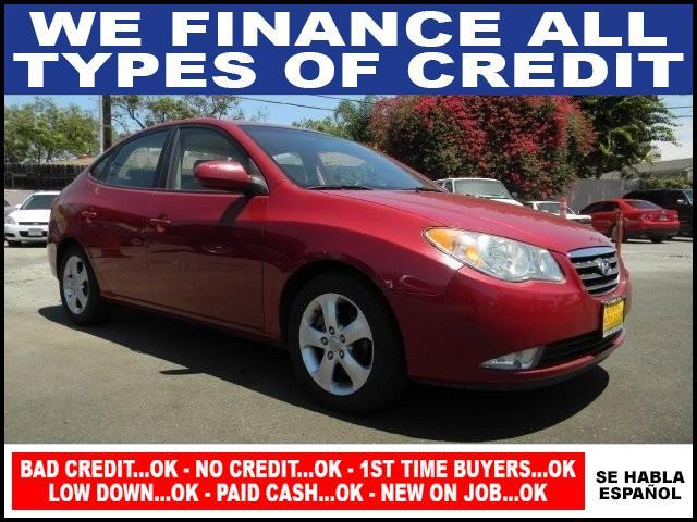 2007 HYUNDAI ELANTRA GLS red limited warranty included to assure your worry-free purchase autoch