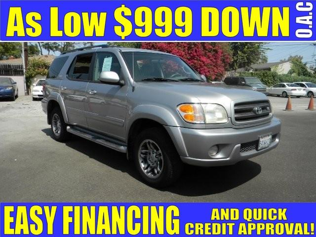 2003 TOYOTA SEQUOIA SR5 4DR SUV gray limited warranty included to assure your worry-free purchase
