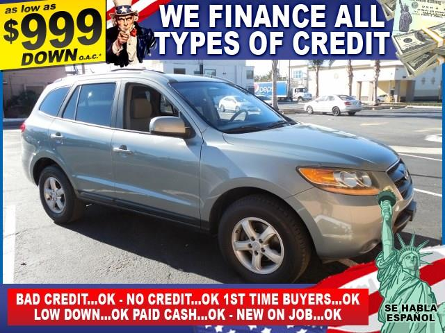 2007 HYUNDAI SANTA FE GLS gray limited warranty included to assure your worry-free purchase auto