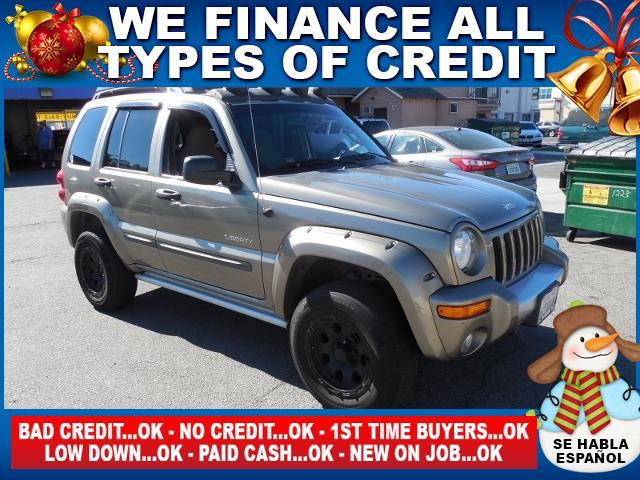 2004 JEEP LIBERTY RENEGADE 4WD 4DR SUV gray limited warranty included to assure your worry-free p