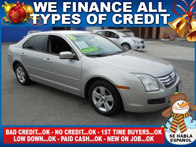 2008 FORD FUSION I4 SE 4DR SEDAN silver limited warranty included to assure your worry-free purch