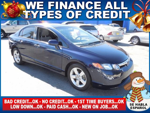 2006 HONDA CIVIC EX 4DR SEDAN WAUTOMATIC blue limited warranty included to assure your worry-fre