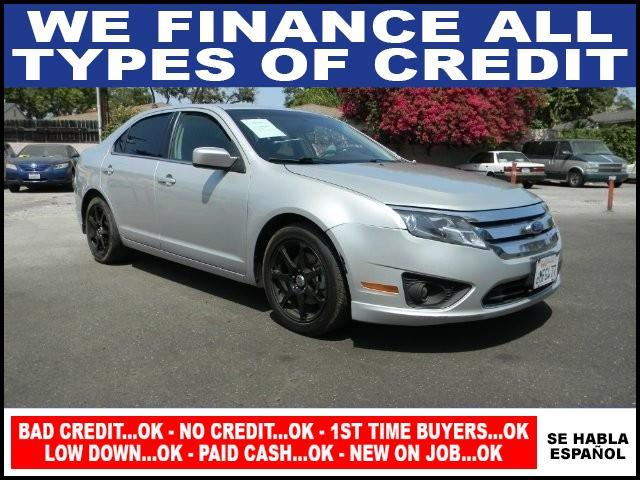 2010 FORD FUSION SE 4DR SEDAN silver plimited warranty included to assure your worry-free purchase