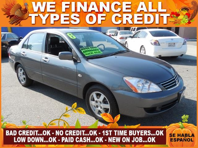 2006 MITSUBISHI LANCER ES 4DR SEDAN WAUTOMATIC gray limited warranty included to assure your wor