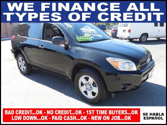 2006 TOYOTA RAV4 BASE 4DR SUV black plimited warranty included to assure your worry-free purchase