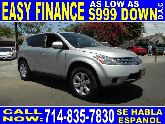 2006 NISSAN MURANO S 4DR SUV silver limited warranty included to assure your worry-free purchase