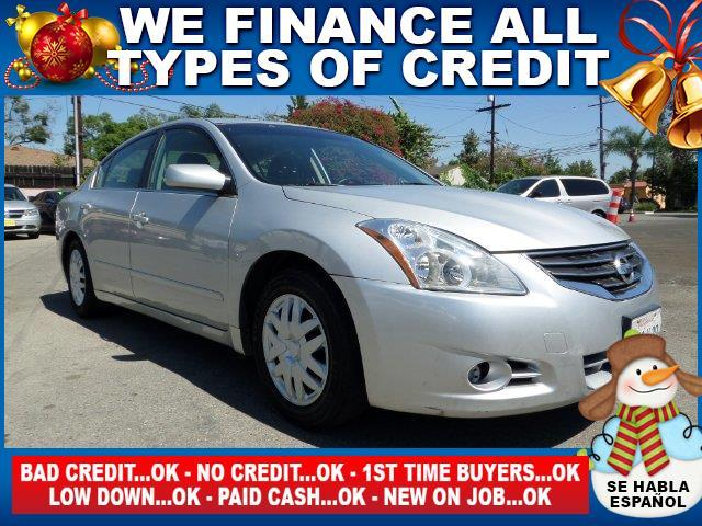 2012 NISSAN ALTIMA 25 4DR SEDAN silver limited warranty included to assure your worry-free purch