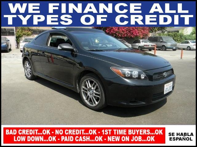 2009 SCION TC black plimited warranty included to assure your worry-free purchase autocheck repo