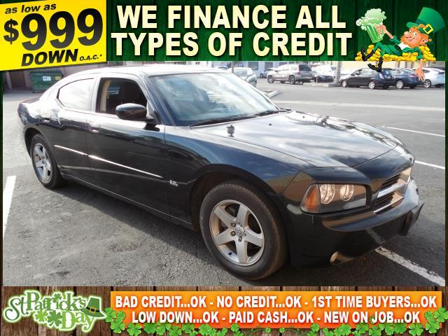 2010 DODGE CHARGER SXT 4DR SEDAN black limited warranty included to assure your worry-free purcha