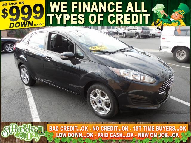 2014 FORD FIESTA SE 4DR SEDAN black limited warranty included to assure your worry-free purchase