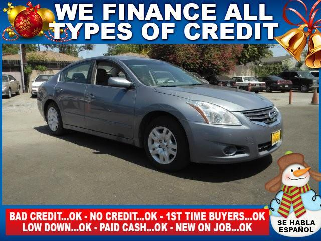 2011 NISSAN ALTIMA 25 4DR SEDAN blue limited warranty included to assure your worry-free purchas