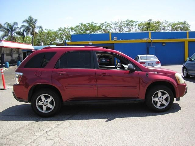2005 CHEVROLET EQUINOX LT 4DR SUV burgundy limited warranty included to assure your worry-free pu