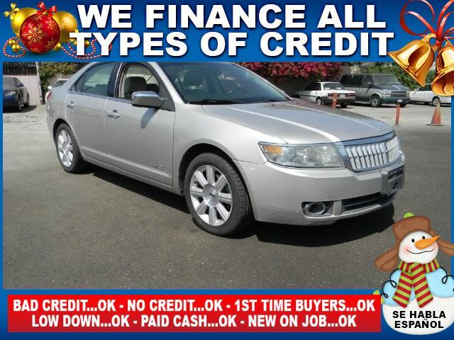 2008 LINCOLN MKZ BASE 4DR SEDAN silver limited warranty included to assure your worry-free purchas