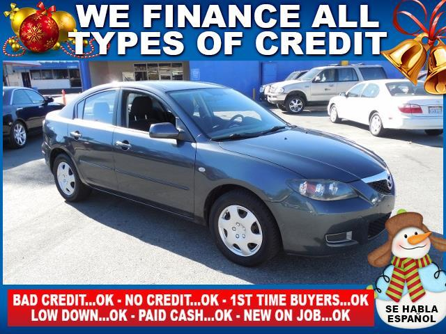2008 MAZDA MAZDA3 MAZDA gray limited warranty included to assure your worry-free purchase autoch