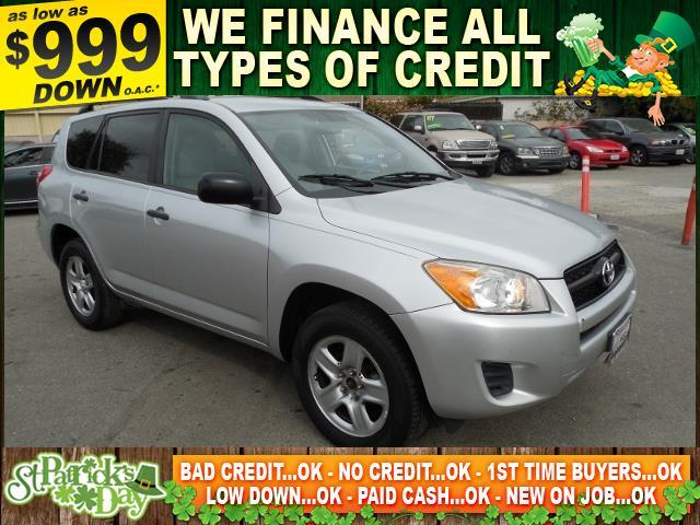 2010 TOYOTA RAV4 BASE 4DR SUV silver limited warranty included to assure your worry-free purchase