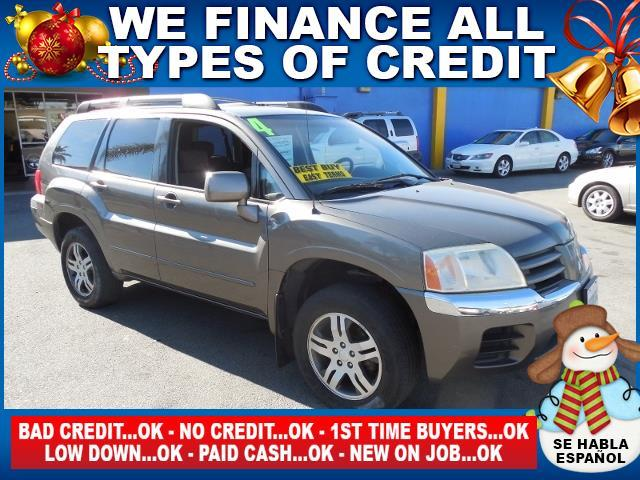 2004 MITSUBISHI ENDEAVOR XLS gray autocheck report is available upon request several thousand pe