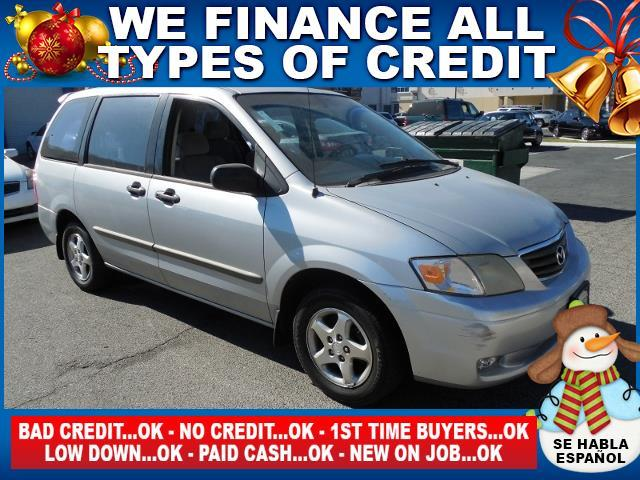 2001 MAZDA MPV MPV silver autocheck report is available upon request several thousand people are