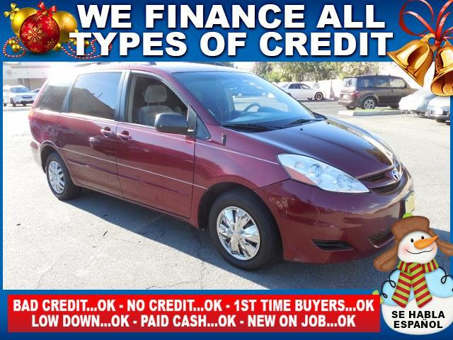 2007 TOYOTA SIENNA LE red limited warranty included to assure your worry-free purchase autocheck
