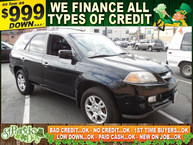 2006 ACURA MDX TOURING AWD 4DR SUV black limited warranty included to assure your worry-free purc