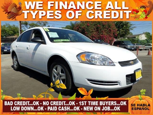 2008 CHEVROLET IMPALA LS 4DR SEDAN W ROOF RAIL CURTAI white plimited warranty included to assure