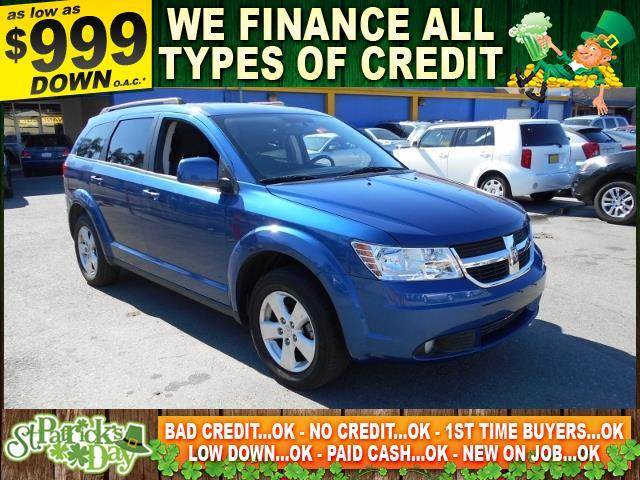 2010 DODGE JOURNEY SXT 4DR SUV blue limited warranty included to assure your worry-free purchase