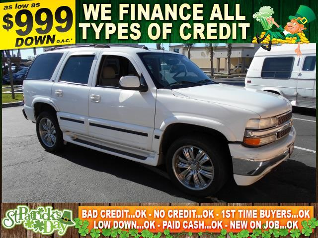 2004 CHEVROLET TAHOE LT 4DR SUV white limited warranty included to assure your worry-free purchas