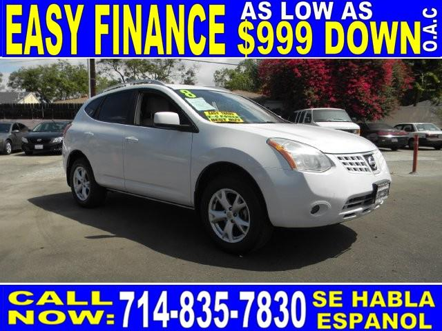 2008 NISSAN ROGUE SL AWD CROSSOVER 4DR white amfmcd playeranti-theftaccruisepower lockspow