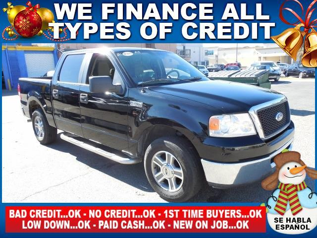 2007 FORD F-150 FX2 4DR SUPERCREW STYLESIDE 65 black limited warranty included to assure your wor
