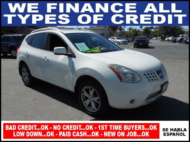 2008 NISSAN ROGUE SL CROSSOVER 4DR white limited warranty included to assure your worry-free purc