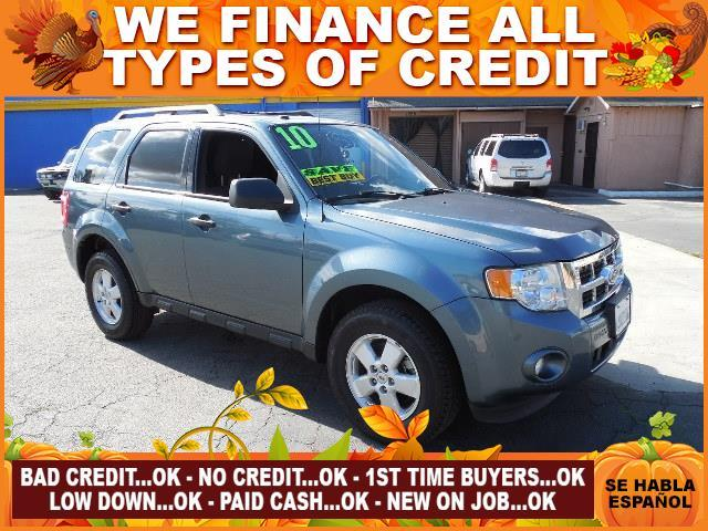 2010 FORD ESCAPE XLT 4DR SUV blue limited warranty included to assure your worry-free purchase a