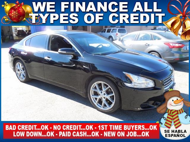2010 NISSAN MAXIMA 35 S 4DR SEDAN black limited warranty included to assure your worry-free purch