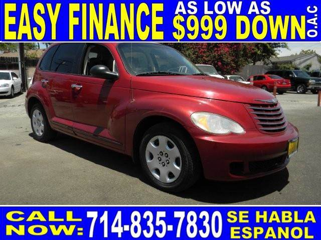 2007 CHRYSLER PT CRUISER TOURING 4DR WAGON red limited warranty included to assure your worry-fre