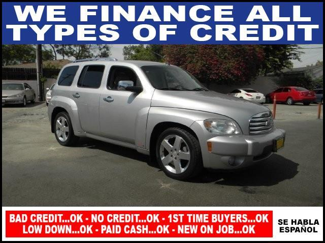 2006 CHEVROLET HHR LT 4DR WAGON silver limited warranty included to assure your worry-free purcha