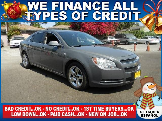 2008 CHEVROLET MALIBU LT 4DR SEDAN W1LT gray limited warranty included to assure your worry-free