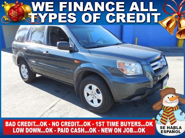 2006 HONDA PILOT LX 4DR SUV gray limited warranty included to assure your worry-free purchase au