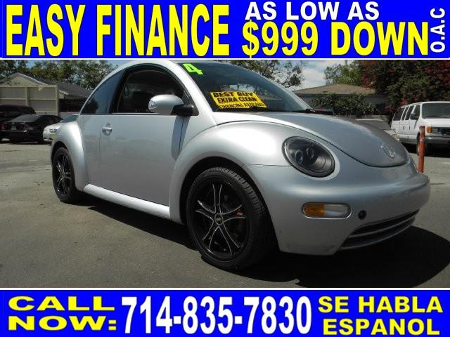 2004 VOLKSWAGEN NEW BEETLE GL 2DR HATCHBACK silver limited warranty included to assure your worry
