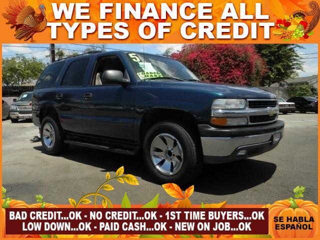 2005 CHEVROLET TAHOE LS 4DR SUV blue limited warranty included to assure your worry-free purchase