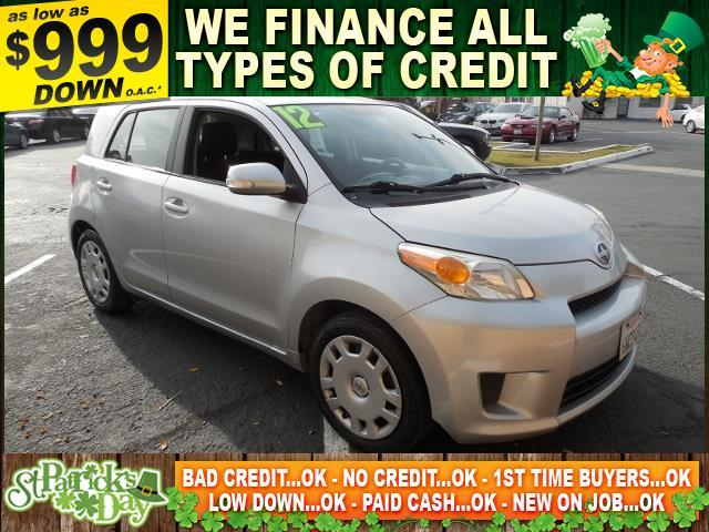 2012 SCION XD silver limited warranty included to assure your worry-free purchase autocheck repo