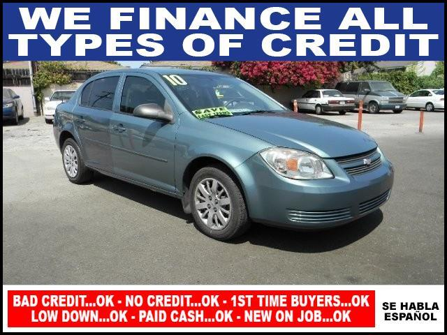 2010 CHEVROLET COBALT LS 4DR SEDAN green limited warranty included to assure your worry-free purch